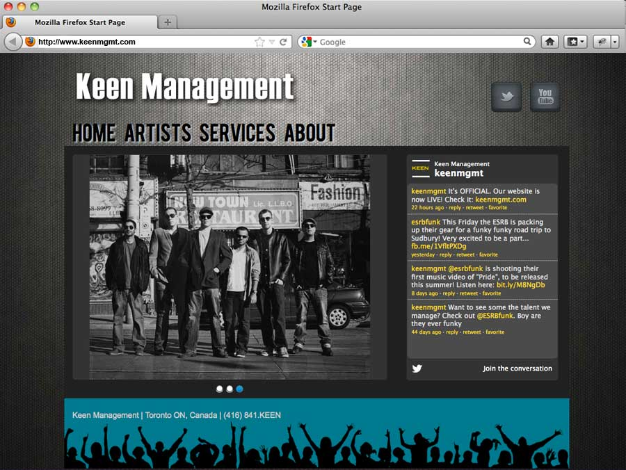 keen management website
